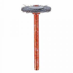 Dremel 26150530JA Brosse en Acier Inoxydable 19 mm (530) Lot de 2 INOX Couronne, Gris