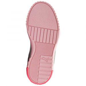 Puma Basket Cali pour Enfant Fille Gray Violet-Calypso Coral 2.5_Infant