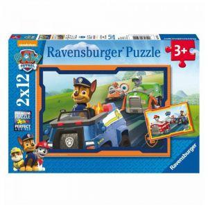 Puzzle Pat'Patrouille (2 x 12 pièces)