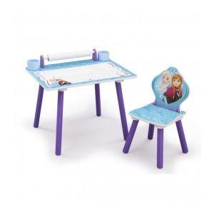 Delta Children Bureau avec rouleau de coloriage intégré La Reine des Neiges