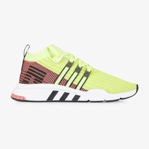 Adidas Eqt Support Mid Adv chaussures néon jaune rouge 42 EU
