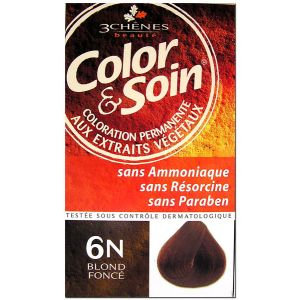 3 Chênes Color & Soin 6N blond foncé - Coloration permanente