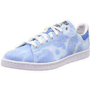 Adidas PW Hu Holi Stan Smith Homme, Blanc (Ftwbla/Bleu 000), 45 1/3 EU