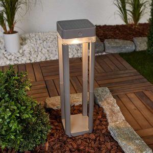 Lutec Lumière solaire LED pour votre espace extérieur TABLE CUBE - ECO LIGHT