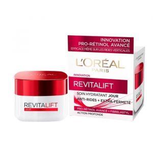 L'Oréal Revitalift Soin Hydratant Eclat Anti-rides + Extra-fermeté 50 ml