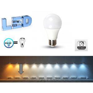 Lighty led Ampoule LED E27 10W BLANC CHAUD
