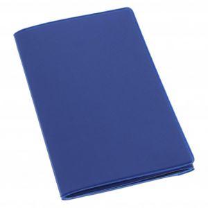 Habill-auto Etui PVC gomme pour carte grise (133x264 mm) bleu ocean
