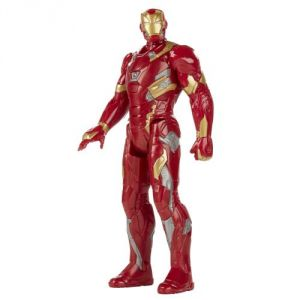 Hasbro Figurine électronique Iron Man Avengers Série Héros Titan