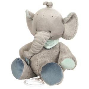 Nattou Peluche musicale Jack l'éléphant