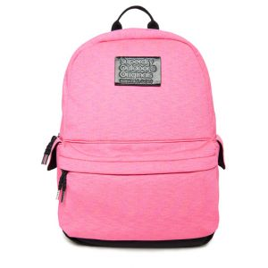 Superdry Sac à dos rayé Jersey Montana - Couleur Rose - Taille 1SIZE