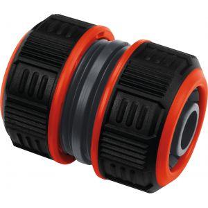 Cap Vert Raccord réparateur Lock de tuyau d'arrosage - Bi-matière - Diamètre 19 mm