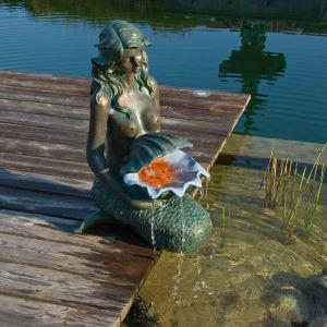 Ubbink 1386064 - Fontaine de jardin Sirène Oslo
