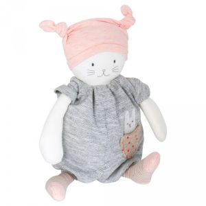 Moulin roty Peluche musicale Moon le chat Les petits dodos