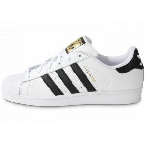 Adidas Superstar chaussures blanc noir 42 EU