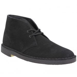Clarks Originals - Desert Boot - Bottes - Homme - Noir (Black) - 42.5 EU