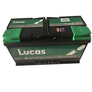 Lucas Batterie de démarrage Premium L5 LP019 12V 95Ah / 800A