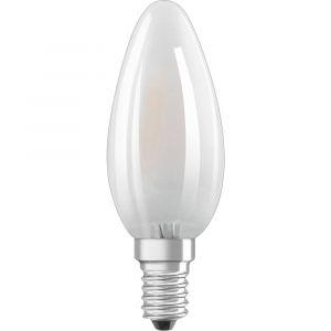 Osram LEDVANCE LED EEC A+ (A++ - E) E14 en forme de bougie 5 W = 40 W blanc neutre (Ø x L) 35 mm x 35 mm 1 pc(s)