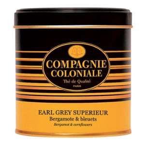 Compagnie Coloniale Thé noir Earl Grey Supérieur - 120 gr