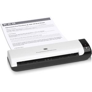 HP Scanjet Professional 1000 - Scanner portable à défilement