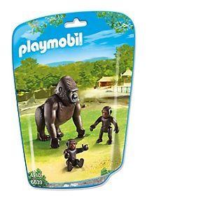 Playmobil 6639 City Life - Sachet gorille avec bébés