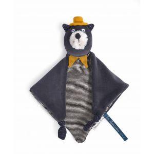 Moulin roty Doudou chat gris alphonse les moustaches