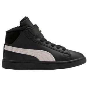 Puma Chaussures hautes - Smash v2 mid fur - Noir Enfant 28