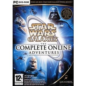 Star Wars : Galaxies - The Complete Online Adventures : An Empire Divided + Jump to Lightspeed + Rage of the Wookies + Trials of Obi-Wan [PC]