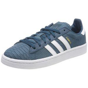Adidas Campus W, Chaussures de Fitness Femme, Bleu (Petnoc/Ftwbla/Dormet 000), 38 2/3 EU