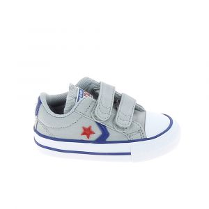 Converse Chaussure bebe star player 2v b bb gris 19