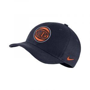 Nike Casquette NBA New York Knicks City Edition AeroBill Classic99 - Bleu - Taille Einheitsgröße - Unisex