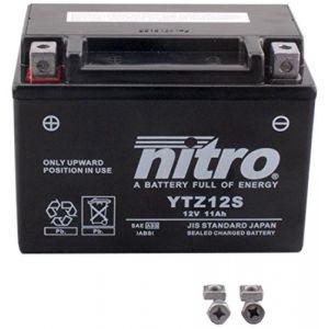 Nitro Batterie YTZ12S AGM ferme Type Acide Sans entretien