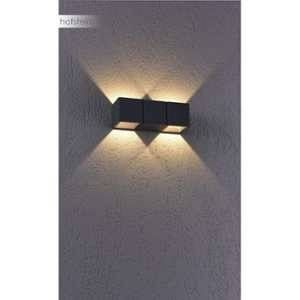 Paul neuhaus Applique murale MARCEL LED Anthracite, 2 lumières - Moderne - Extérieur