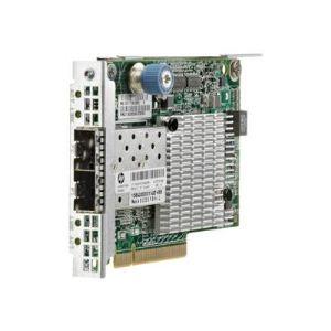 HP 647581-B21 - Adaptateur réseau 530FLR-SFP+ 2 ports PCI-E 2.0 pour ProLiant DL160 Gen8, DL360p Gen8, DL380p Gen8, SL230s Gen8, SL250s Gen8.