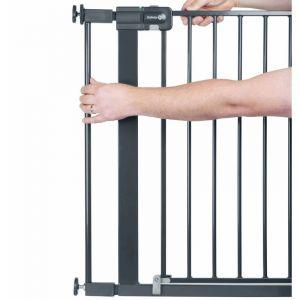 Safety 1st 1st Extension de barrière de sécurité 7cm Noir Métal 2428057000