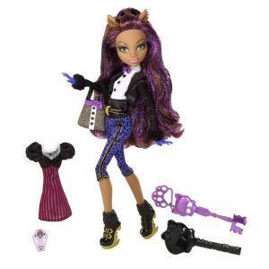 Mattel Monster High Clawdeen Wolf en tenue de soirée