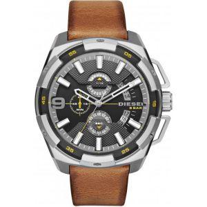 Diesel DZ4393 - Montre pour homme avec bracelet en cuir