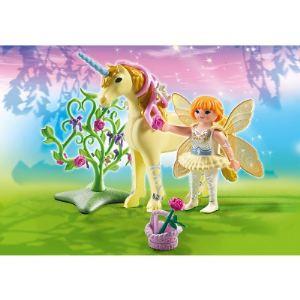 Playmobil 5442 Fairies - Fée jardinière avec licorne fleur