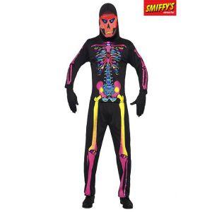 Smiffy's Déguisement squelette néon homme