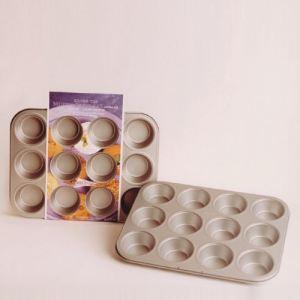 Patisse Plaque/moule à pâtisserie anti-adhérente 12 muffins (27 x 35 cm)