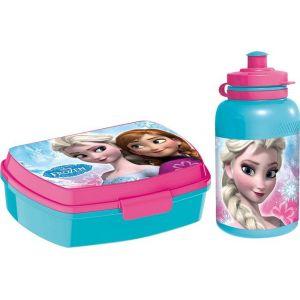 Boîte à gouter et bouteille de sport La Reine Des Neiges