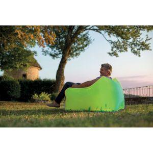 Fauteuil gonflable WindBag Mini Vert - JARDIDECO