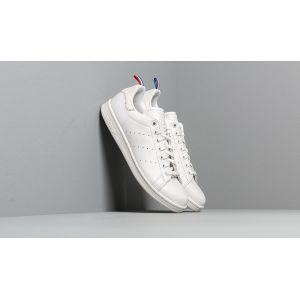 Adidas Stan Smith, Chaussures de Gymnastique Homme, Blanc Crystal FTWR White/Scarlet), 45 EU