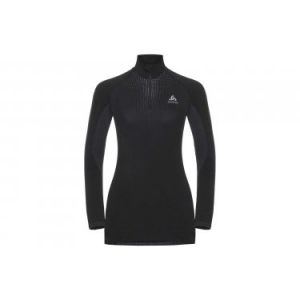 Odlo Performance Warm 1/2 zip W vêtement running femme Noir - Taille XS