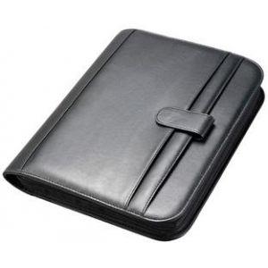 Alassio 30040 - Serviette de bureau Riccione, A4, simili cuir