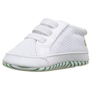 Lacoste L.12.12 Crib 318 1 Cab, Chaussures de Naissance Mixte bébé, Blanc