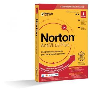 Logiciel antivirus et optimisation Norton Antivirus Plus 2Go 1 poste [Windows]