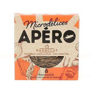 Micronutris Insectes apéritifs Ténébrio / Sigillatus saveur barbecue