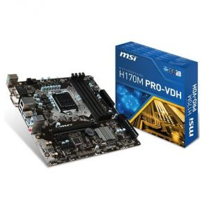 MSI H170M Pro-VDH - Carte mère Socket 1151