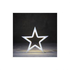 Etoile à corde lumineuse 102 LED blanc chaud 27x3,5x26 cm