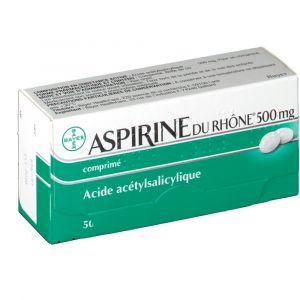 Bayer Aspirine du Rhône® 500 mg - 50 Comprimés